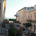 vue extérieure du balcon