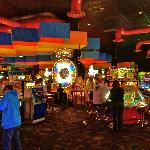 The games room in Dave & Busters