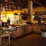 Restaurante Fazendinha - Buffet no fogão a lenha