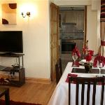 Lounge at Robertsbridge Retreat Lower- our self catering Apartments