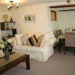 Lounge at Robertsbridge Retreat Upper - our self catering apartments 8 minutes from Woodside