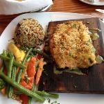 plank salmon'
