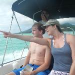 cruising around Bora Bora
