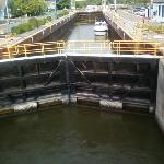 Lock 24-right next to the hotel!