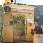 Entrance to Casa Consenza