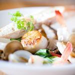 Fresh Seafood Bouillabaisse in Coconut Lemongrass Broth