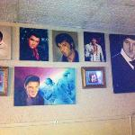 local artists Elvis portraits