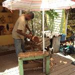 Straw Market vendor