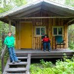 Our Knik cabin