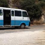 Bus navette public menant de la presqu'île à Kas.