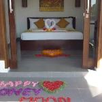 our bedroom and honeymoon surprise!