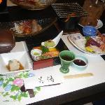 The meals at Biyu no Yado are divine!