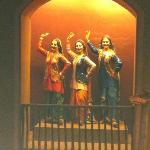 An Artwork showing Punjabi Ladies dancing