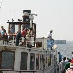 The guided tour boat