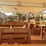 salle de restaurant en terrasse