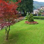 Lo splendido parco delle Terme di Lurisia