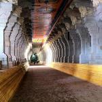 the beautiful corridor with 1200 pillars
