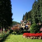 Il parco delle Terme di Lurisia