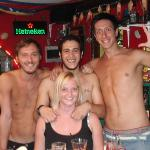 Meet the staff of the pool bar ROUGE BOOZE , Amazing people..