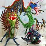 Popular mexican papier mache types of figures