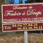 Domaine du fouloir a draps telephone