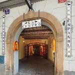 entrance from Maltezske square