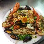 mix grill fish