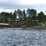 hytterne fra søen