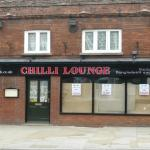 Front of the Chilli Lounge Baldock