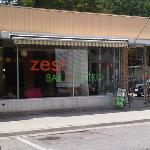 Zest Bar + Bistro Front