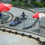 Outdoor go-karts