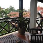 la terrasse de la suite
