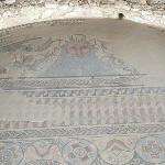 Mosaico dios Océano
