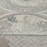 Mosaico con escena mitológiica