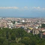 Vista parziale di Torino dalla Mole