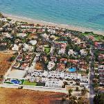 Vista aerea Piedramar y playa Fuente del Gallo