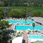 Le piscine dell'hotel