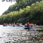 We went whitewater rafting nearby one day--great fun!
