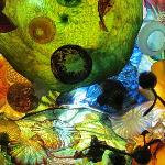 Chihuly Glass Ceiling Sculpture