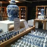 extensive items on display and for sale in the shop - not only royal delft but other cheaper ver