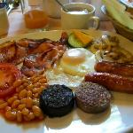 Their delicious and generous Irish breakfast