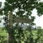 The road to Keswick