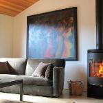 Modern Ranch living room