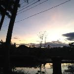 Enjoy daily sunrise walks in the rice patties.