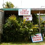 Entrance to the Shack