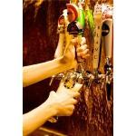 The copper plated draft wall with 12 different beers on tap. - CJ Katz, for the Leader-Post