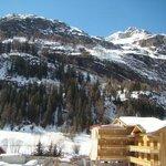 vue de la terrasse de l hotel