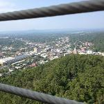 View of Hot Springs from Observation Tower
