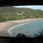 View of Kantiang Bay from clifftop bungalow