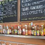 Lots of choice in hot sauces